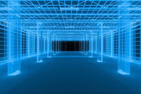 Laser Scan of Building Interior