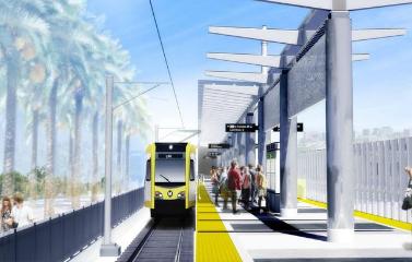 Crenshaw-LAX Light Rail 3