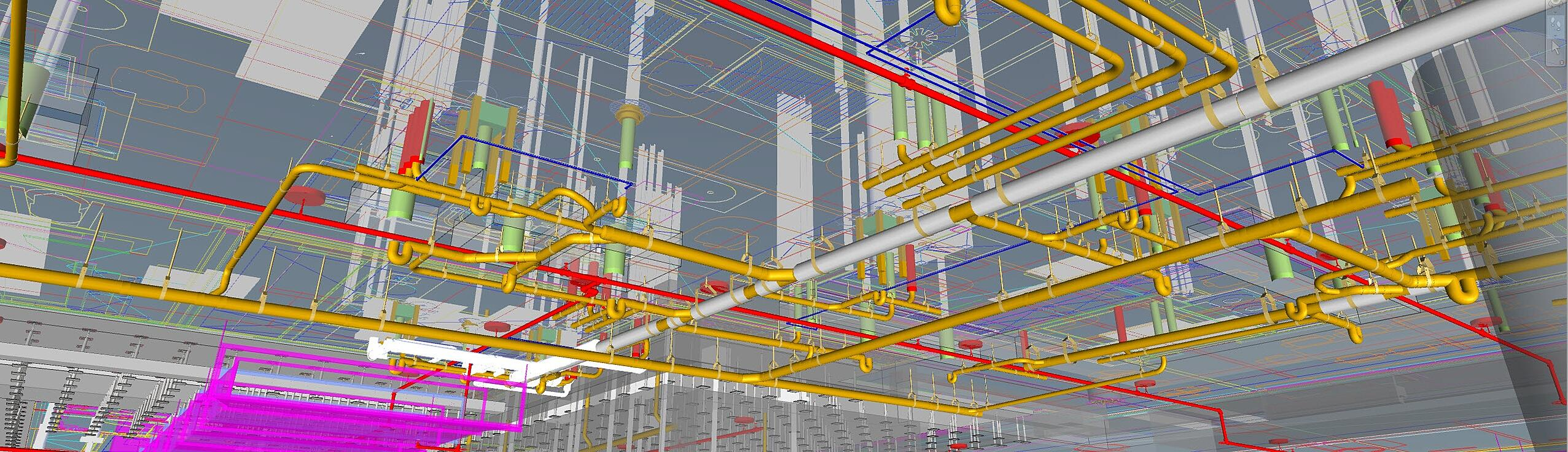 Creating Detailed Designs for MEP Systems