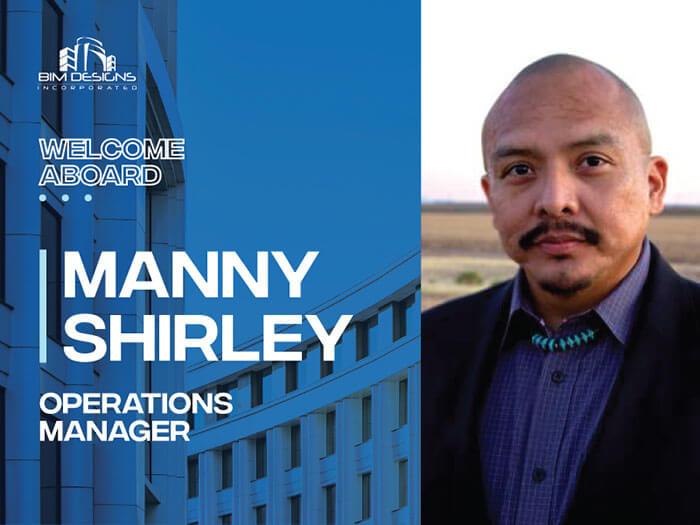 BIM Designs, Inc. Adds Manny Shirley to the Executive Leadership Team